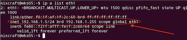 پیدا کردن آی پی در سیستم عامل ابونتو